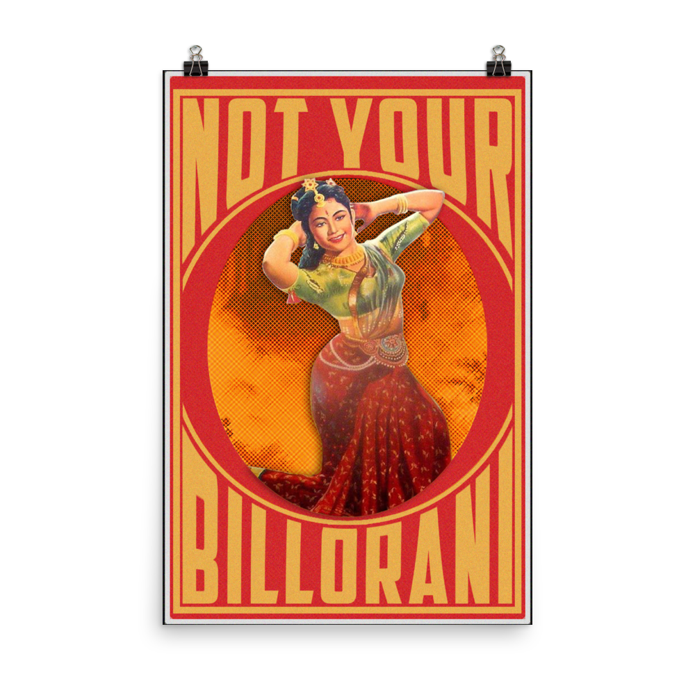 Billorani Photo paper poster