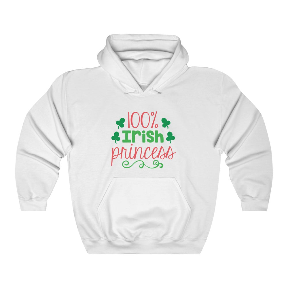 e92229ac9c0 100% Irish Princess Unisex Hooded Sweatshirt
