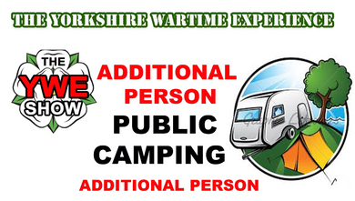 ADDITIONAL PERSON Public Camping