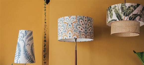 Lampshades + lighting
