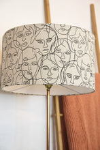 Load image into Gallery viewer, Faces lampshade