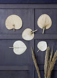 Bamboo fan wall decoration