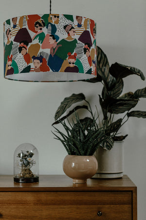 Fashion focussed lampshade