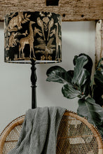 Load image into Gallery viewer, Safari velvet luxury lampshade