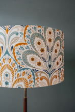 Load image into Gallery viewer, Lotus Flower Print lampshade