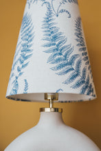 Load image into Gallery viewer, Fern print cone lampshade