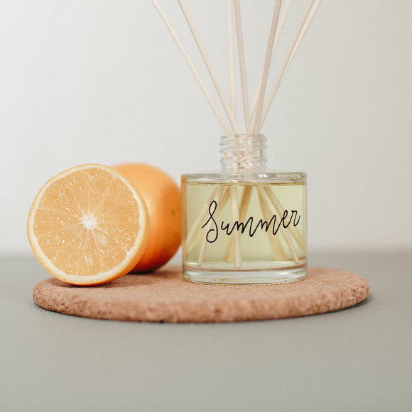 Summer scented room fragrance diffuser