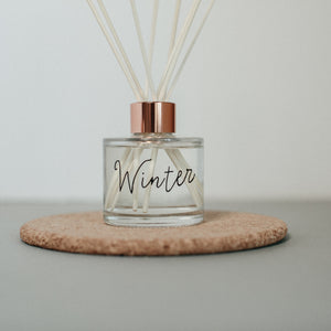 Winter scented room fragrance diffuser