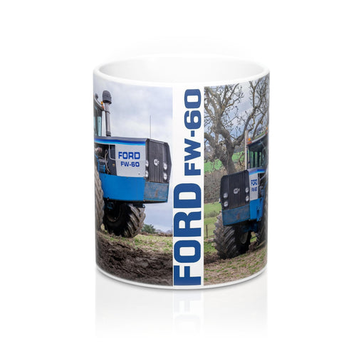 Collectors Printed Tractor Mug 11oz Ford FW60