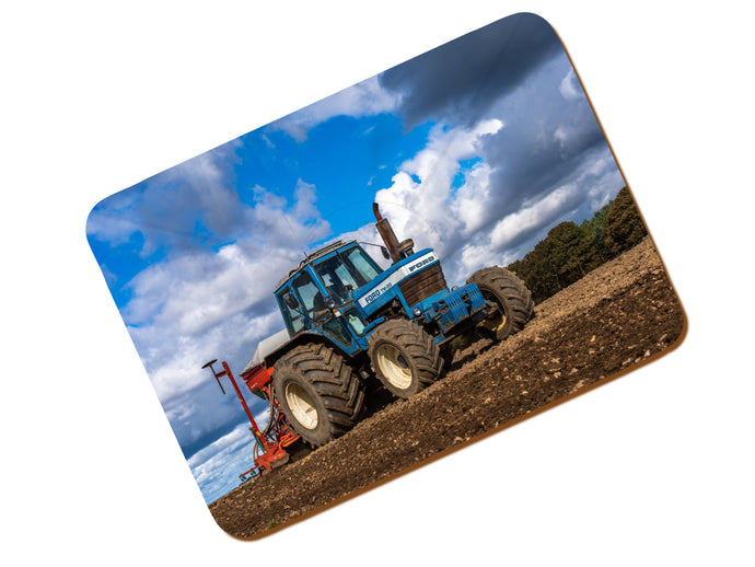 Printed Place Mat With A Ford TW20 Sowing Wheat