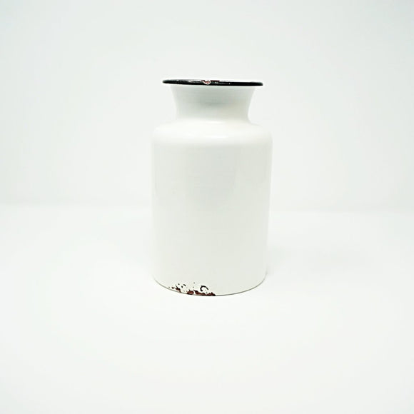 Farmhouse Chic Enameled Jug