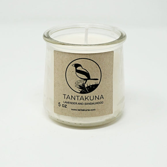 Lavender and Sandalwood Candle, 5 oz.