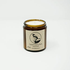Sandalwood Candle, 4 oz.
