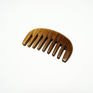 Natural Sandalwood Detangling Comb