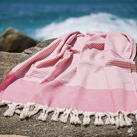 Striped Beach Turkish Towel
