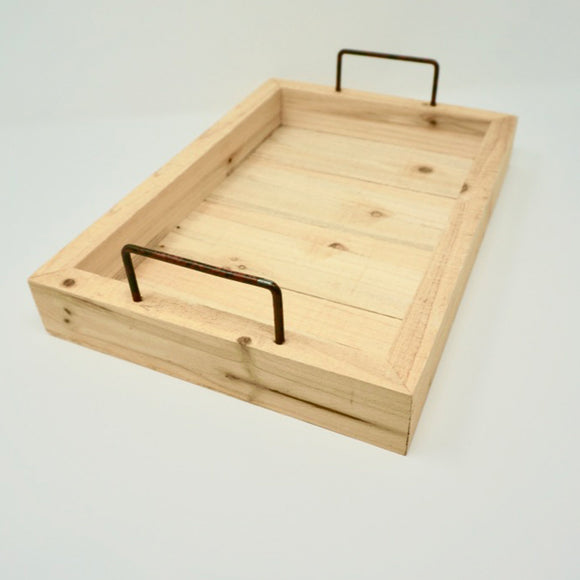 Rectangular Pine Tray