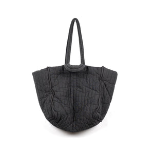 The Quilt Tote - Grey Cotton
