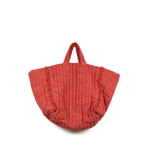 The Quilt Tote - Brick Garment Dyed Linen