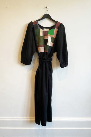 Patchwork Dress  - 'The All Black One'