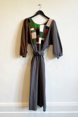 Patchwork Dress  - 'The Slate One'