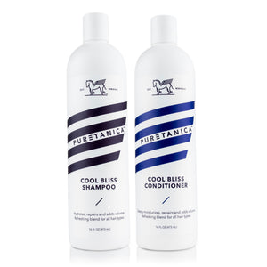 Puretanica Cool Bliss Shampoo & Conditioner Set (2 x 16 Fl Oz) - Puretanica