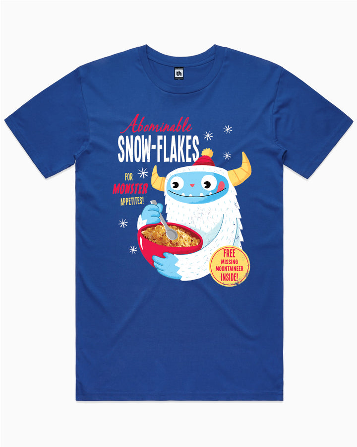 Abominable Snowflakes T-Shirt Australia Online
