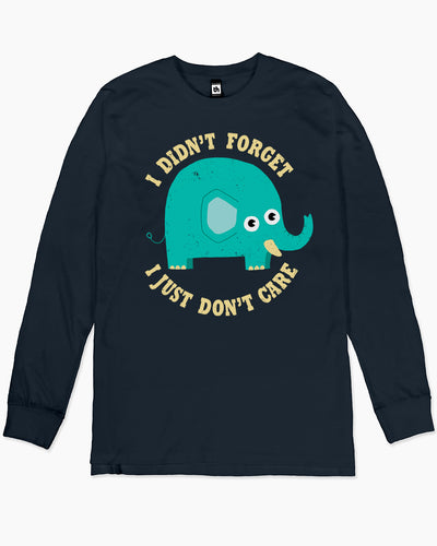 An Elephant Never Cares Long Sleeve Australia Online
