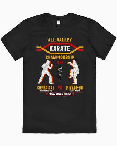 All Valley Karate Championship T-Shirt Australia Online