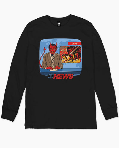 Breaking News Long Sleeve Australia Online