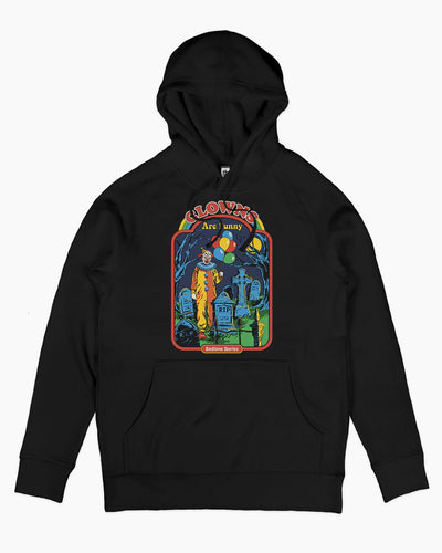 Clowns are Funny Hoodie Australia Online