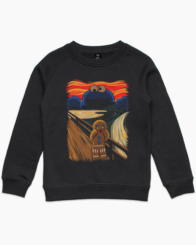 The Cookie Muncher (Collab with Tembart) Kids Sweater Australia Online