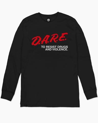 DARE to Resist Drugs and Violence Long Sleeve Australia Online