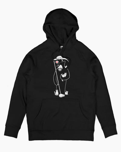 Death is a Cat Person Hoodie Australia Online