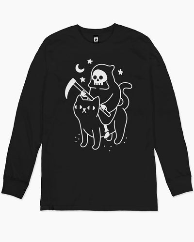 Death Rides a Black Cat Long Sleeve Australia Online