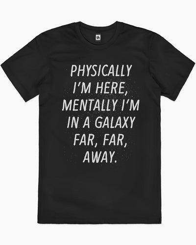 Galaxy Far Away T-Shirt Australia Online