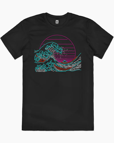 Great Neon Wave T-Shirt Australia Online