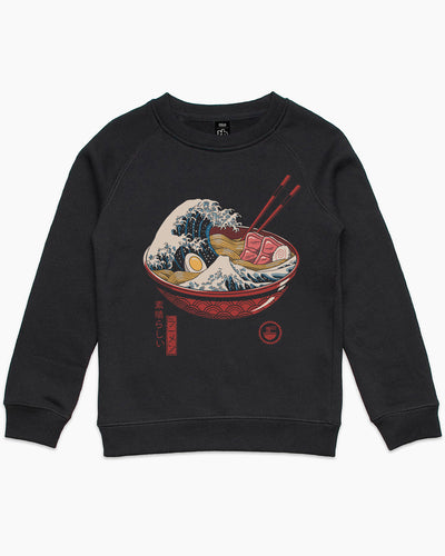 Great Ramen Wave Kids Sweater Australia Online
