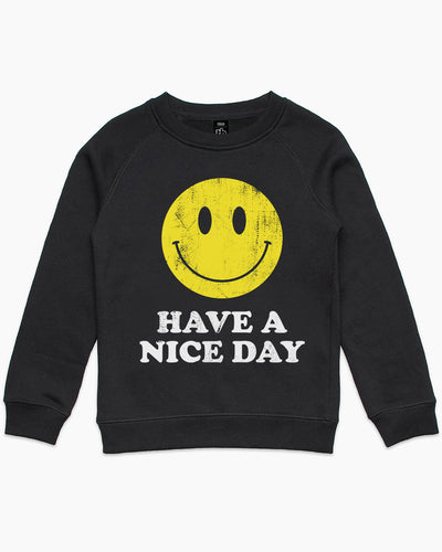 Have a Nice Day Kids Sweater Australia Online