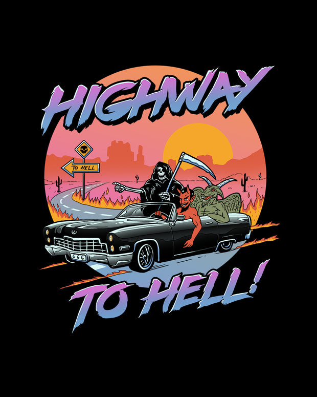 Highway to Hell T-Shirt Australia Online