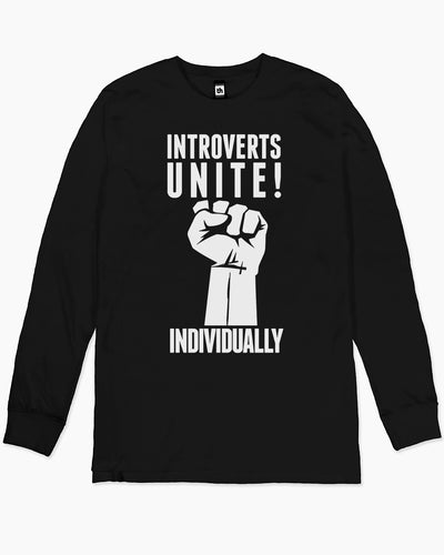 Introverts Unite Long Sleeve Australia Online