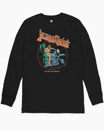 Jesus Christ - No Time to Explain Long Sleeve Australia Online