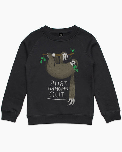 Just Hanging Out Kids Sweater Australia Online