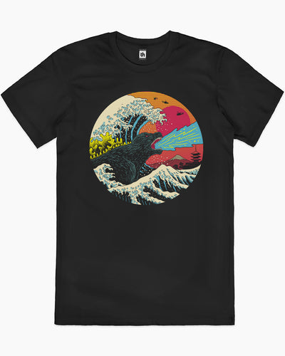 King Kaiju Wave T-Shirt Australia Online