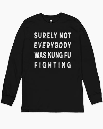 Kung Fu Fighting Long Sleeve Australia Online