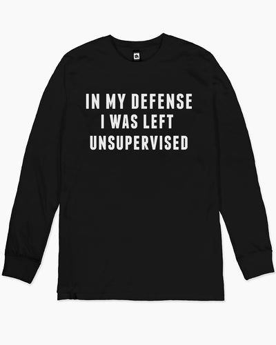 Left Unsupervised Long Sleeve Australia Online