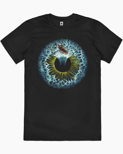 Lost in Your Eye - Aquatic T-Shirt Australia Online