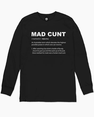 Mad Cunt Long Sleeve Australia Online