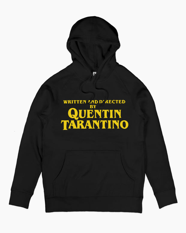 Written and Directed by Quentin Tarantino Hoodie Australia Online