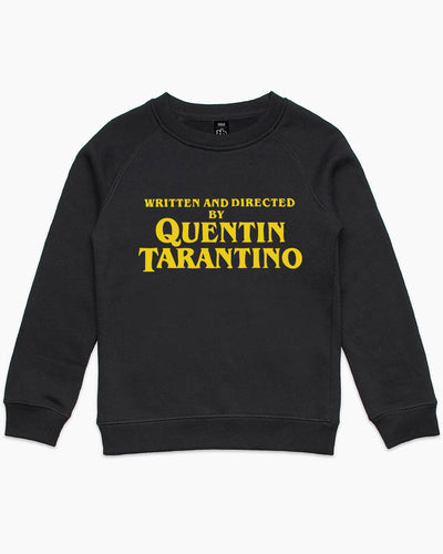 Written and Directed by Quentin Tarantino Kids Sweater Australia Online