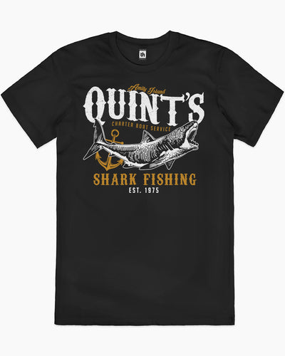Quint's Shark Fishing T-Shirt Australia Online